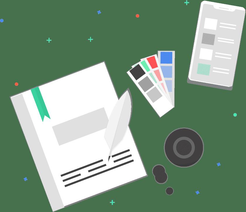 UXUI designer illustration