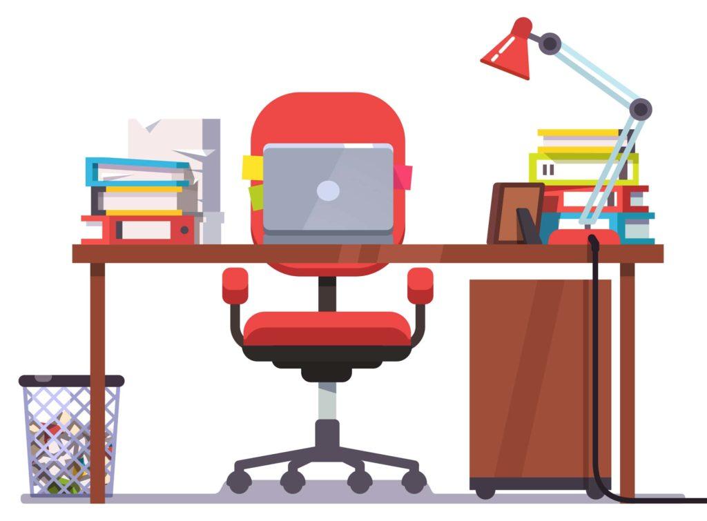 espacio de trabajo para home office