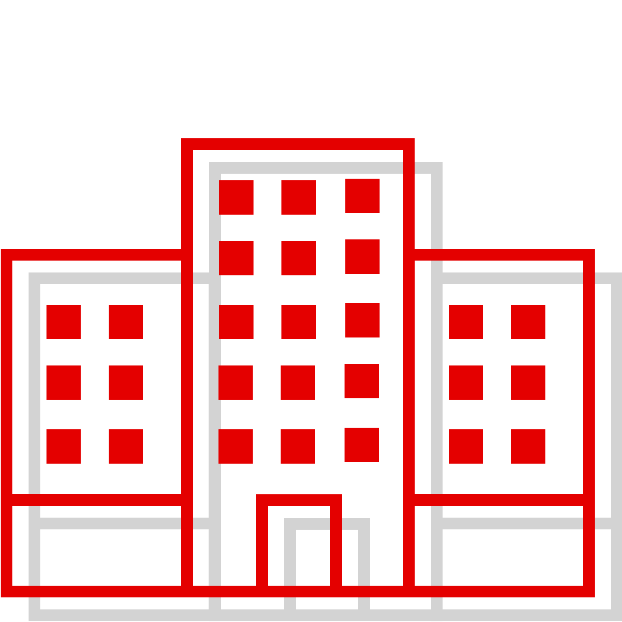 large company red icon