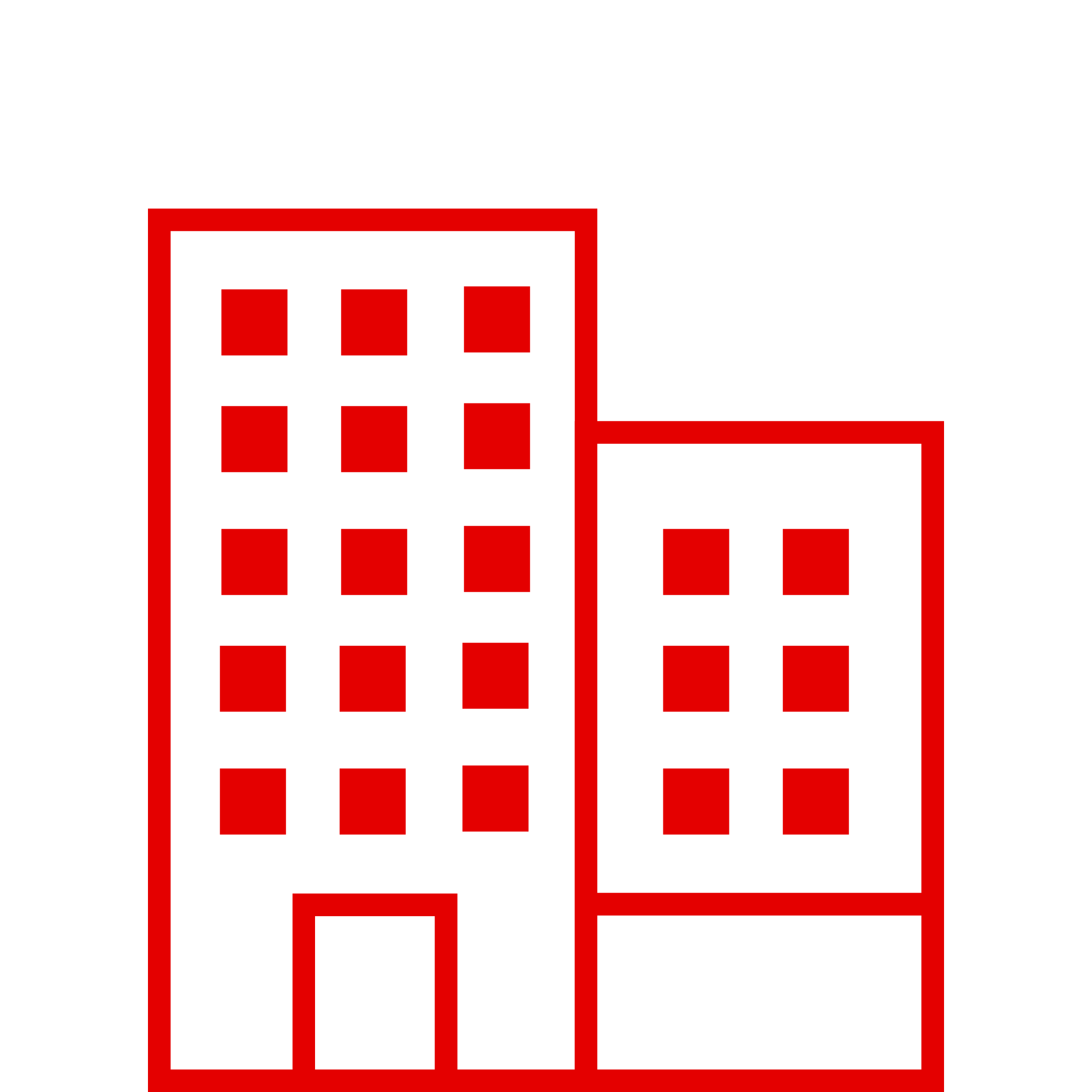 mid size company red icon