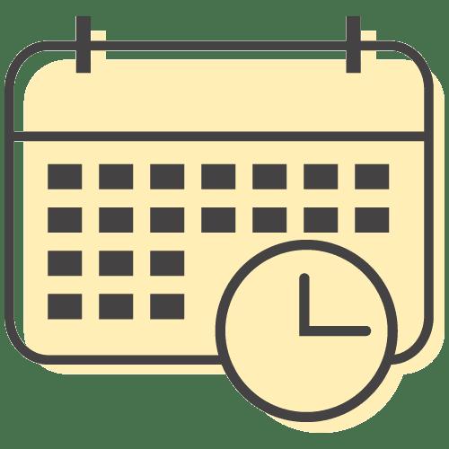 calendar icon illustration