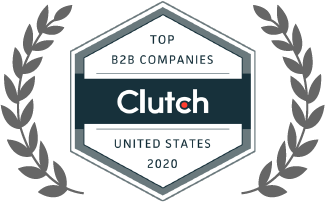 clutch top b2b companies in united sates 2020 badge award