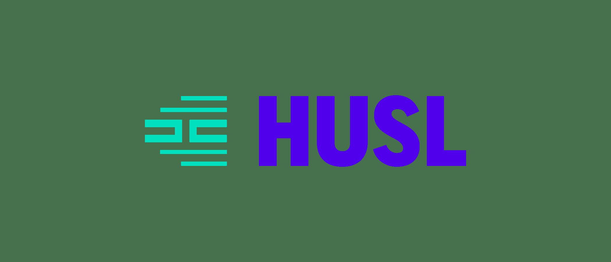 HUSL company logo color