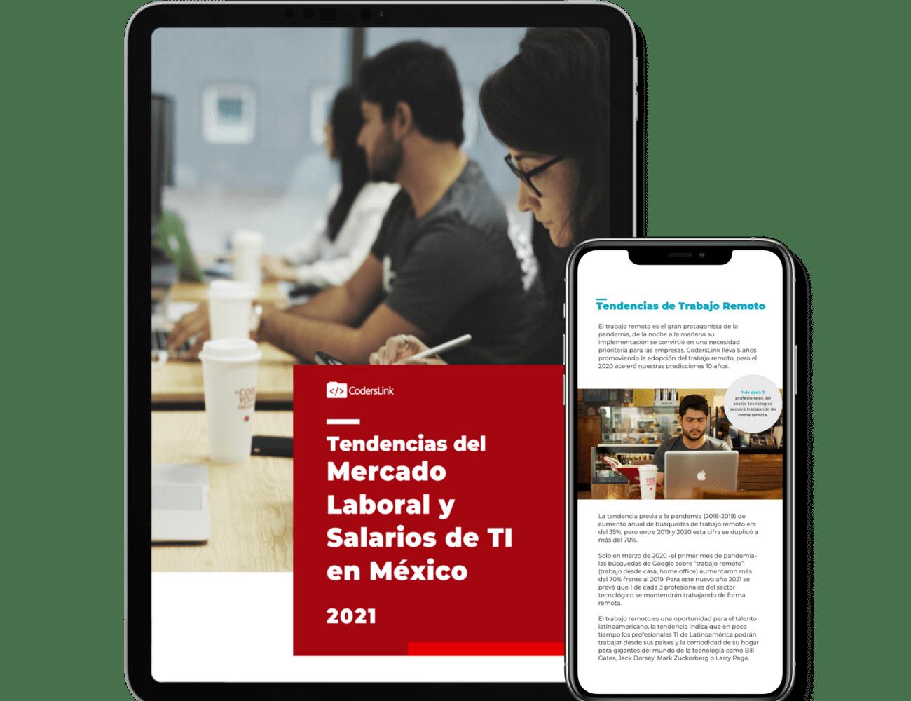 ebook: Tendencias del Mercado Laboral y Salarios de TI en México 2021