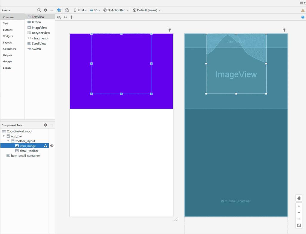 """agregaremos otra dependencia a build.gradle llamada Glide, que nos permite reemplazar """"en caliente"""" una imagen mostrada en un componente ImageView."""