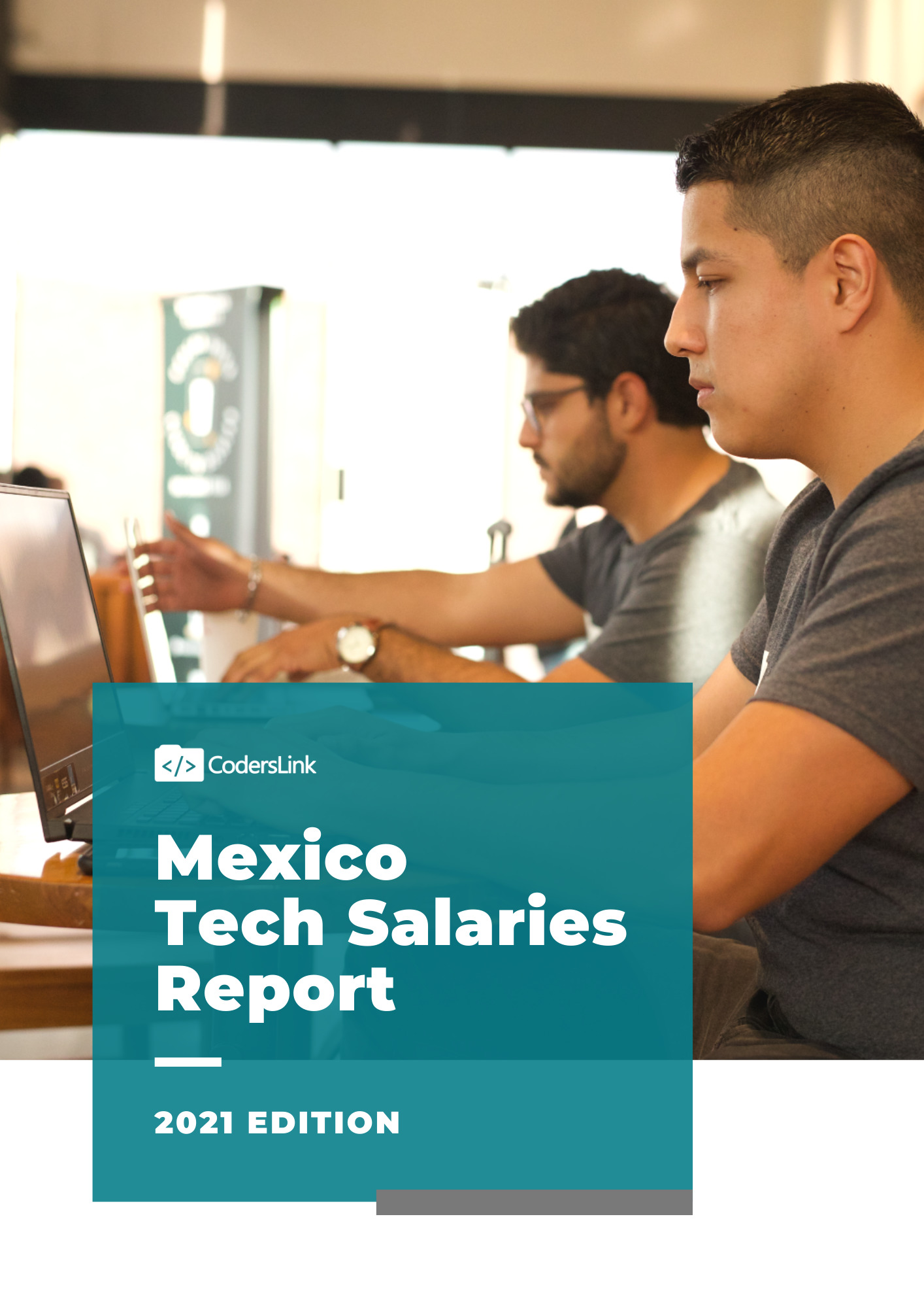 tech salaries in mexico report 2021 edition cover