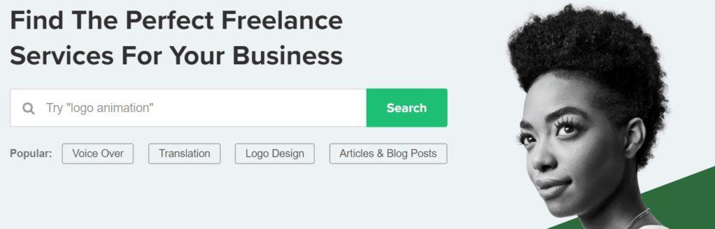 Freelance services. On demand