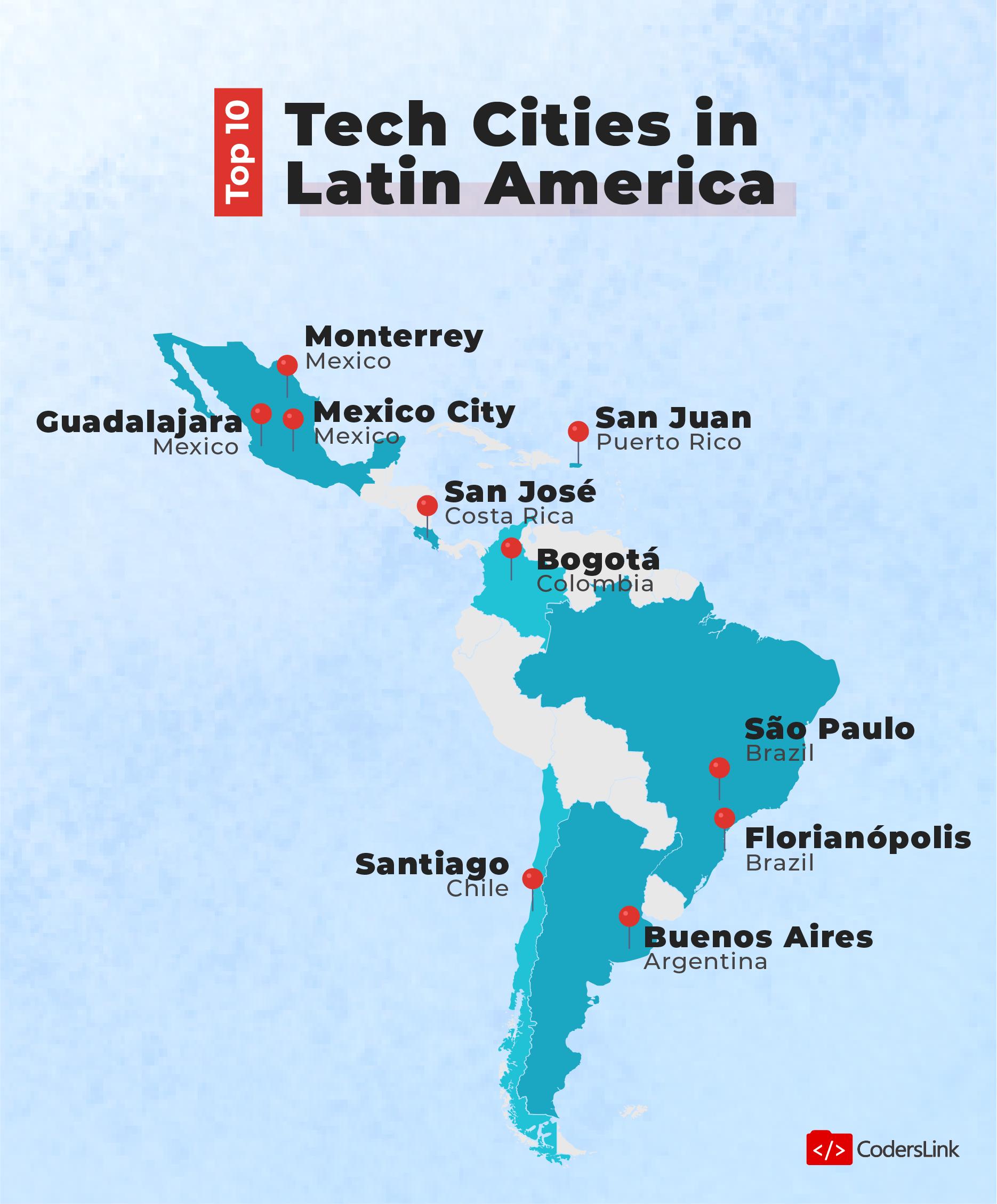 top 10 it outsourcing destinations illustration